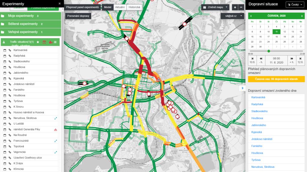 Traffic Modeller in Pilsen
