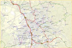 Traffic modelling data