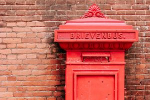 Datadriven placement of red letterboxes in Ghent (Belgium)